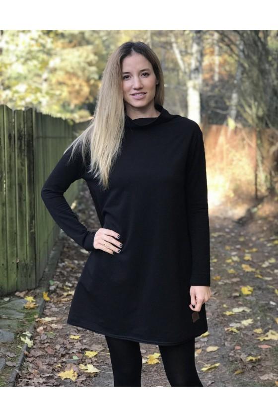 Loose Dress Black