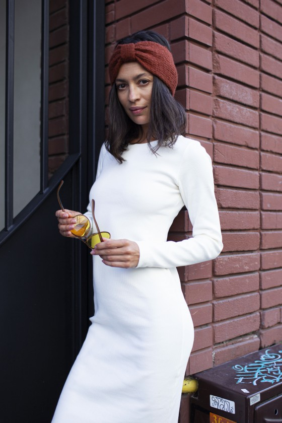 Sukienka Tuba Jesień Kremowa