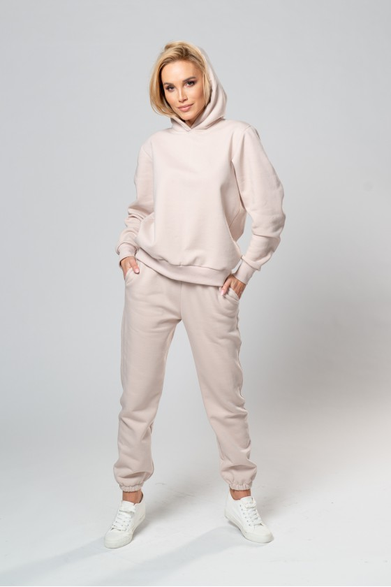 Spodnie dresowe jasny beż