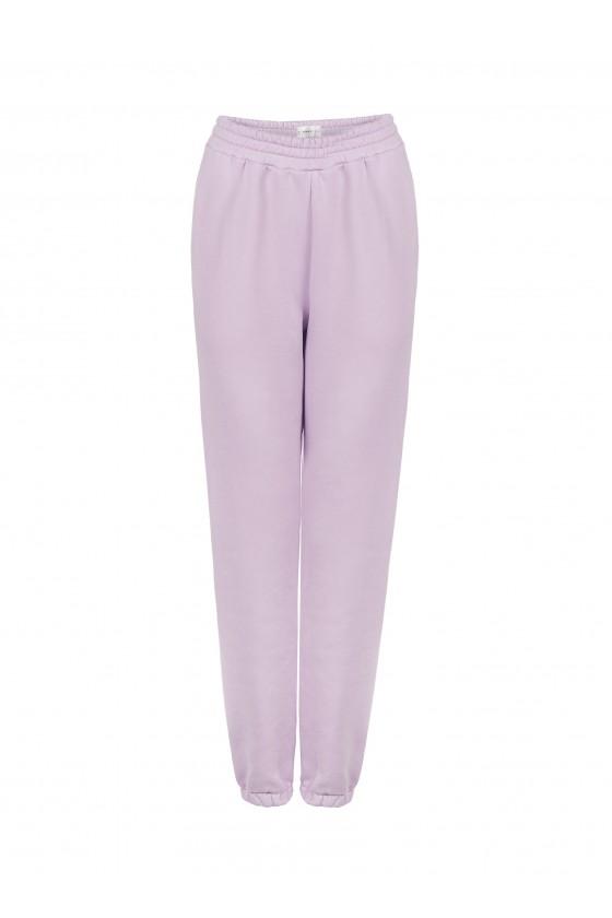 Spodnie Liliowe