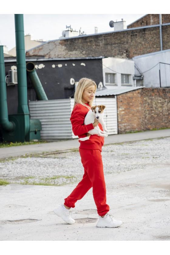 Spodnie Czerwone